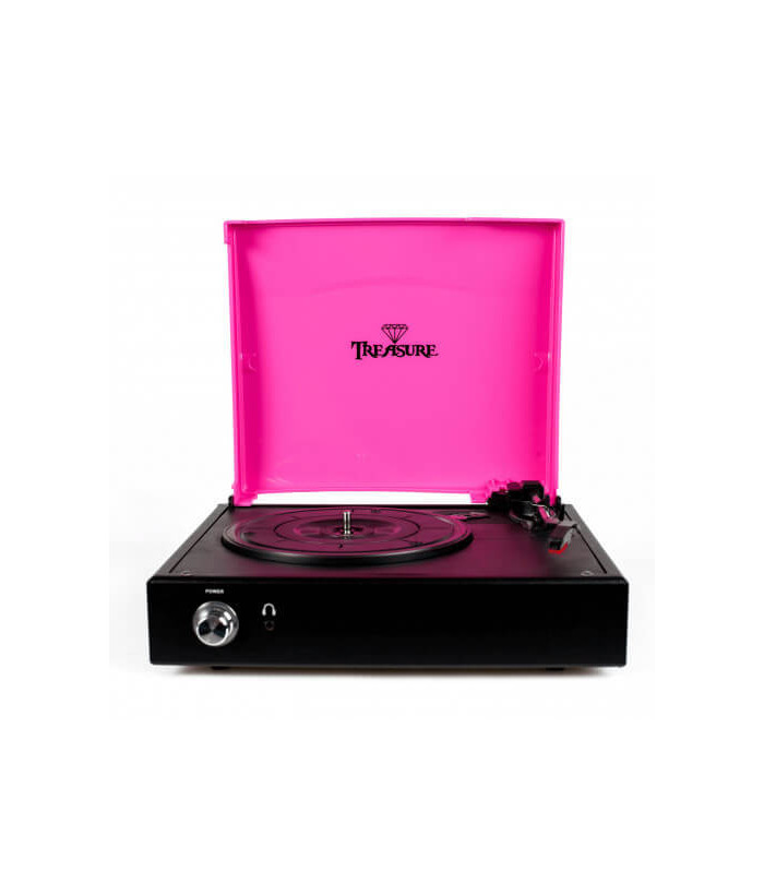 Vitrola Treasure Pink e black (3)